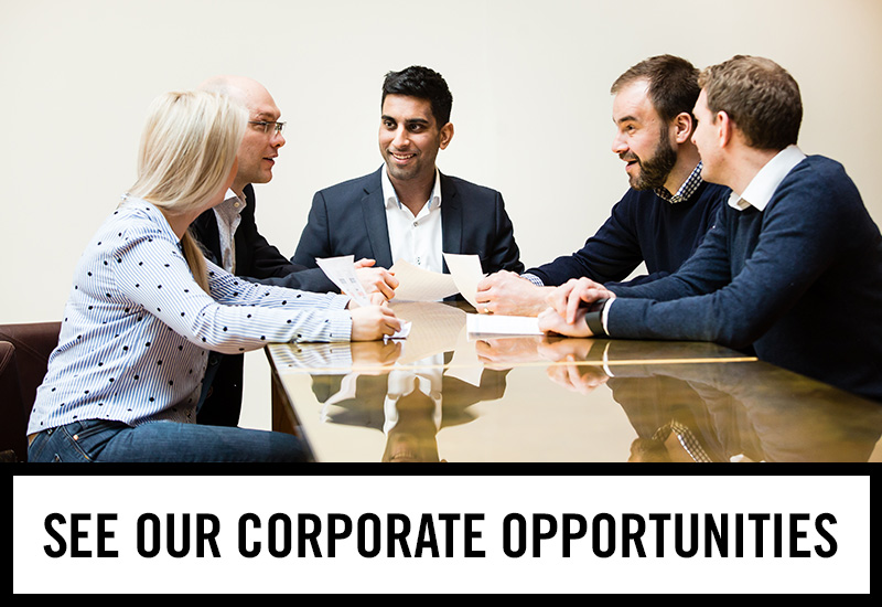 Corporate opportunities at The Friary
