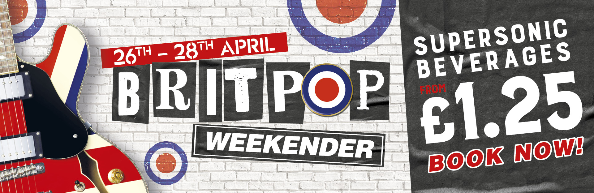 Britpop Weekender at The Friary